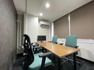渋谷ワールド宇田川ビル 4人半個室RoomD 1日貸しの室内の写真