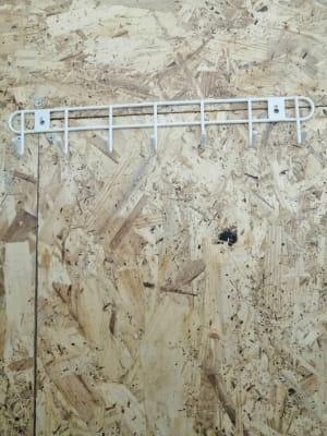 更衣室でフックがけができます。 - ひのまるスタジオ天神北 大ホール ヨガ・ピラティス特化型の設備の写真