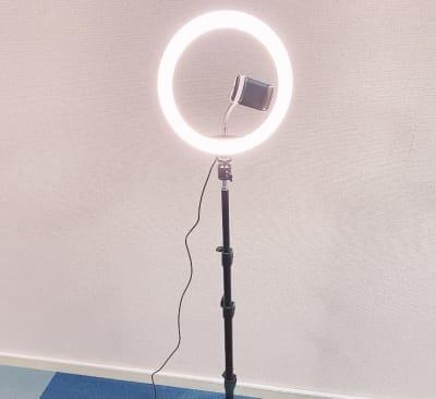 撮影用ライト - on a journey貸会議室 千葉駅前の設備の写真