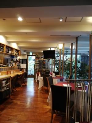 レストランchez MACIO 多目的スペース(モニター付き)の室内の写真
