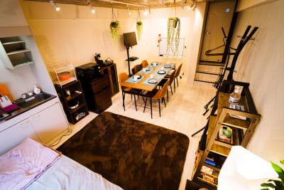 見山店舗ビル 3F 貸しパーティスペースの室内の写真