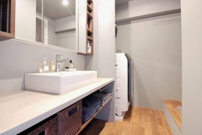 洗面所 - 撮影、イベントスペース新宿御苑前 リノベシェアスペースの室内の写真