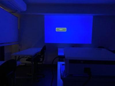 プロジェクター(無料) 壁面投影となります HDMIケーブルの用意あります - H.R.S.O 大須多目的ルーム Heavenly大須多目的ルームの室内の写真