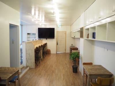 torune レンタルカフェ、イベントスペースの室内の写真