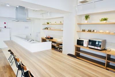 T's南森町ビル キッチンスタジオ(4F)の室内の写真