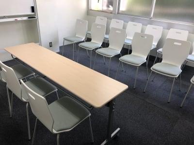 面接レイアウト - JK Room 虎ノ門 セミナー会議室の室内の写真