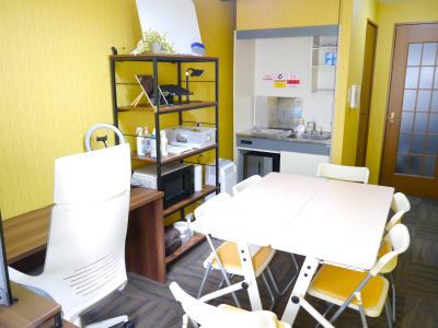 【七条新町ミニマルオフィス】 七条新町ミニマルオフィスの室内の写真