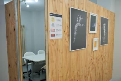 個室入口 - OMO|オモ【三宮本通店】 【個室|4席分】レンタルスペースの室内の写真