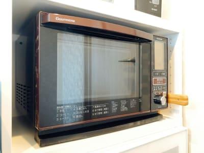 bliss space渋谷  キッチンスペース  オーブンレンジで料理も捗ります。 - bliss space bliss space渋谷の設備の写真