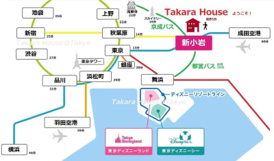 Takara House 4LDKの室内の写真