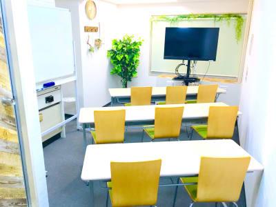 基本レイアウト - お気軽会議室 リバティ淀屋橋 梅田から1駅/カタン導入♬の室内の写真