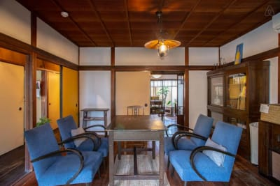 共有スペース - 日暮荘 【個室・お二人利用】仕事や勉強にの室内の写真
