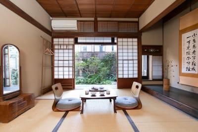 和室もしくは洋室の個室をご利用いただきます - 日暮荘 【個室・お二人利用】仕事や勉強にの室内の写真