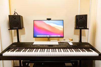 KMA音楽スタジオ 【B studio】の室内の写真