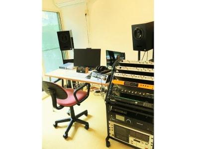オプション申請で録音エンジニアを付けたり、録音機材の使用が可能になります。 - 祐天寺アトリエ 防音スタジオ付E レンタルスタジオ・防音・音楽室の室内の写真