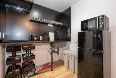 キッチン2口IHコンロ有 - KOU  R4_NURO光!集中作業部屋の室内の写真