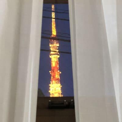 夜には東京タワーが見える立地です - 楊梅桃李 / ようばいとうり レンタルサロン&スペースの室内の写真