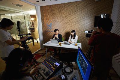 九段下の貸会議室 ナレッジソサエティ 撮影スタジオの室内の写真