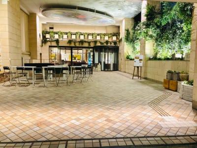 施設入り口です。 - ニューオーサカホテル心斎橋 貸し会議室Bの外観の写真