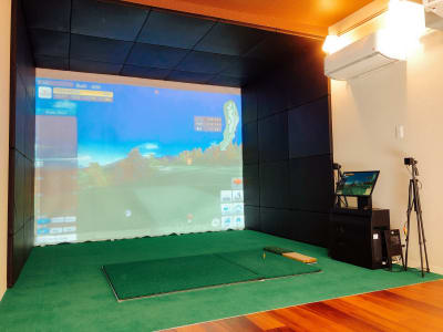 bliss space渋谷 2nd luxe シュミレーションゴルフ  メインルームからこちらのテラスに出れます。 テラスでの喫煙も可能です。 - bliss space 2nd  bliss渋谷 2nd luxeの室内の写真