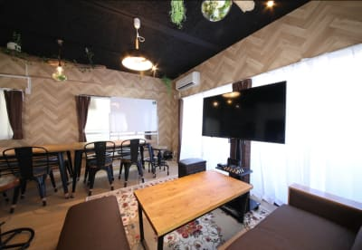 163_Cafeteria池袋 レンタルスペースの室内の写真