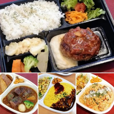 お弁当の注文可能 500円~ - レストランchez MACIO 多目的スペース(2階)の設備の写真