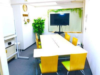 お気軽会議室 リバティ淀屋橋 梅田から1駅/カタン導入♬の室内の写真