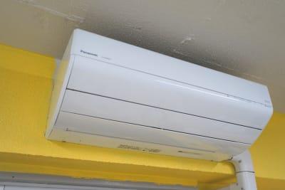 冷暖房どちらも使えます! - SPICY CANDY ダンススタジオの設備の写真