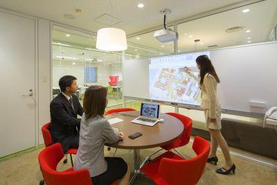 九段下の貸会議室 ナレッジソサエティ 小会議室(5名)の室内の写真