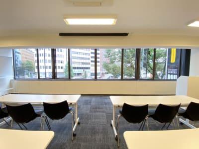窓を開けて換気可能 - TIMESHARING渋谷宮益坂 Biz 3B【旧みんなの会議室】の室内の写真
