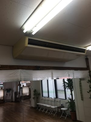 エアコン - ダンスSPOTオギハラ ダンスフロアーの設備の写真
