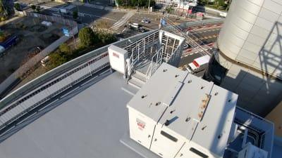 俯瞰  - 天しもビル 屋上レンタル撮影スタジオの室内の写真