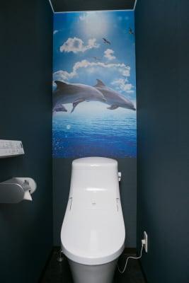 トイレ - Dolphins Cafe 和室でほっこり♪オフ会に最適!の設備の写真