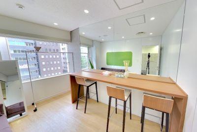 九段下の貸会議室 ナレッジソサエティ 個室メイクルームの室内の写真