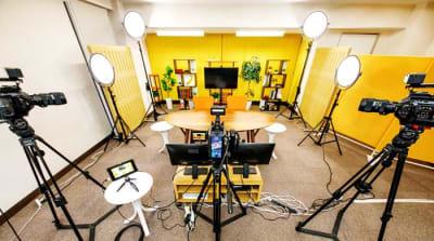 スタジオ - TMCミカンスタジオ M1スタジオの室内の写真