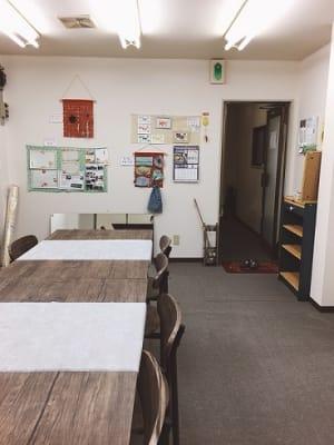 豊里フリールーム B教室の室内の写真