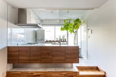 キッチン正面 - STUDIO AOTO スタジオBの室内の写真