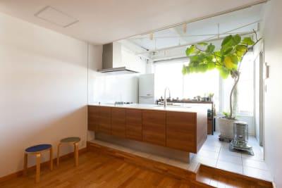 キッチンは使用可能です。 - STUDIO AOTO スタジオB 商用利用の室内の写真