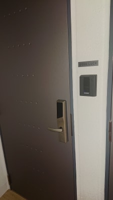 キーレスです。 - グッドラック マッサージスペースの入口の写真