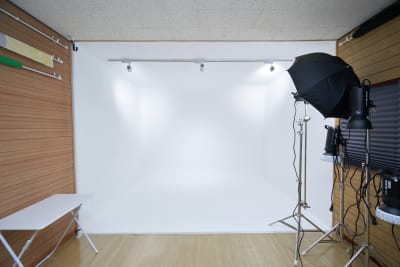スタジオ内 - フォトスタジオナナイー! 気軽に使える白ホリ!の室内の写真