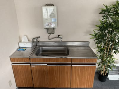 洗い場 - ダイワ高井田セミナールーム 会議室、セミナールームの設備の写真