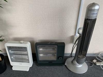 電気ヒーター3台あります - ダイワ高井田セミナールーム 会議室、セミナールームの設備の写真