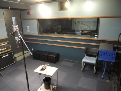 収録防音スペース - 防音レンタルスペース レンタル撮影・収録スタジオの室内の写真