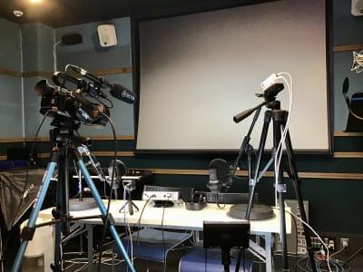 防音レンタルスペース レンタル撮影・収録スタジオの室内の写真