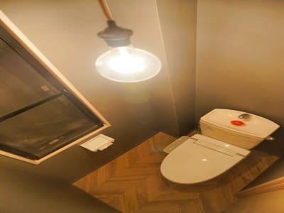 お手洗いは毎日清掃を行っており、清潔にご利用いただけます。 - HaNaLe三鷹台駅会議室 個別デスク席③の設備の写真
