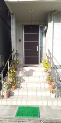 おうちカフェ sima sima ワーキングスペースの入口の写真