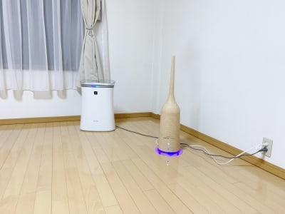 空気清浄器・加湿器完備 - レンタルスペース Mermaid (ルームC)15畳フローリングの室内の写真