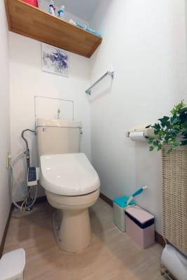 温水洗浄付トイレです。 - 名古屋の部屋 グリーンスペース名古屋の室内の写真