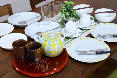 食器も揃っています。 - 名古屋の部屋 グリーンスペース名古屋の室内の写真