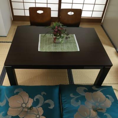 和室の座卓、座布団、背もたれです。 - 名古屋の部屋 グリーンスペース名古屋の設備の写真